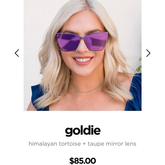 23f27f5064403 Diff Eyewear Sunglasses Goldie cat eye new